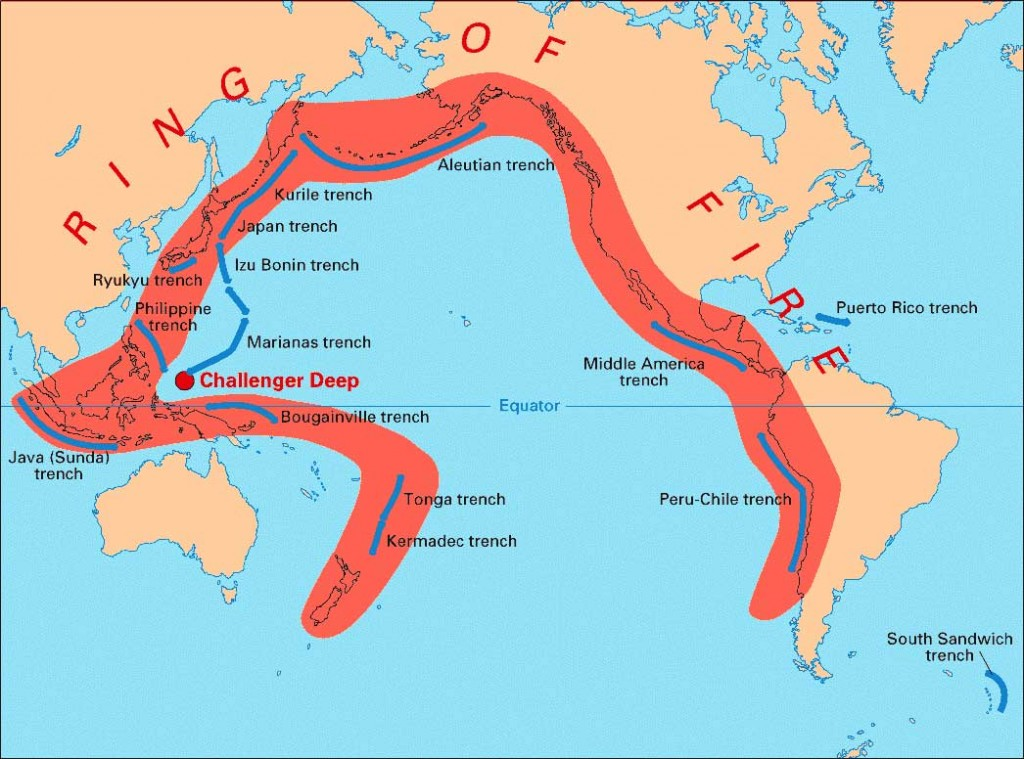 pacific earthquakes