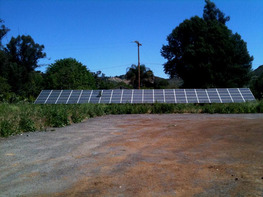 Solar Panel Operated Tilapia Farm